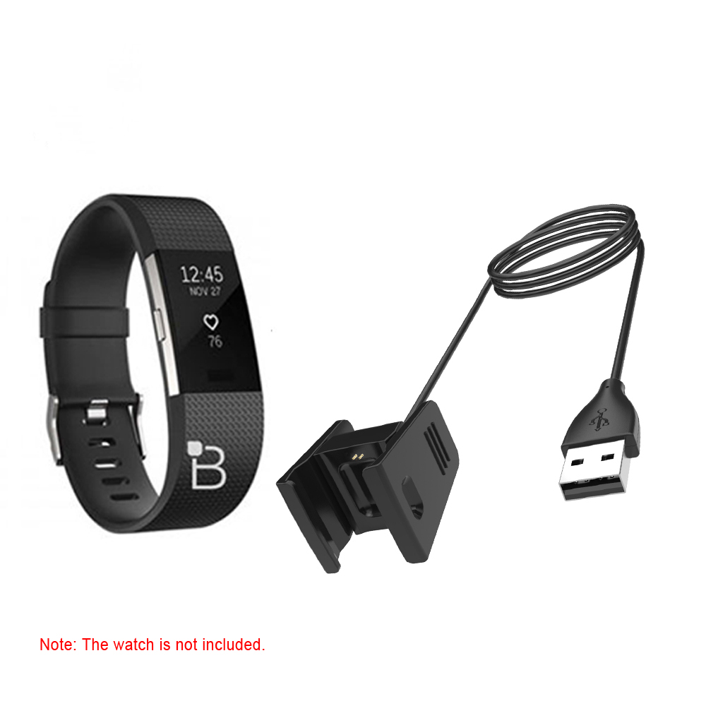 US $2 49 33% OFF 1 Meter Smart Watch Charging Clip USB Cable Portable  Wristband Charger For Fitbit Charge 2 Intelligent Watches-in Data Cables  from