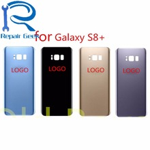 OEM Brand New Back Glass Cover for Samsung Galaxy S8 Plus S8 edge G955 Rear Battery Cover Door Housing Blue Black Gold Silver