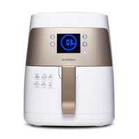 WUXEY Intelligent No Oil Deep Air Fryer Household Korean Electric Fryer High Capacity Four Generations New