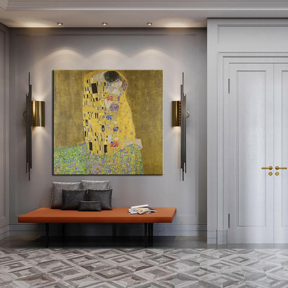 Zz1597 Wall Art Decoration Painting Gustav Klimt Big Tree: DPARTISAN Huge Gustav KLIMT Giclee Print CANVAS WALL ART