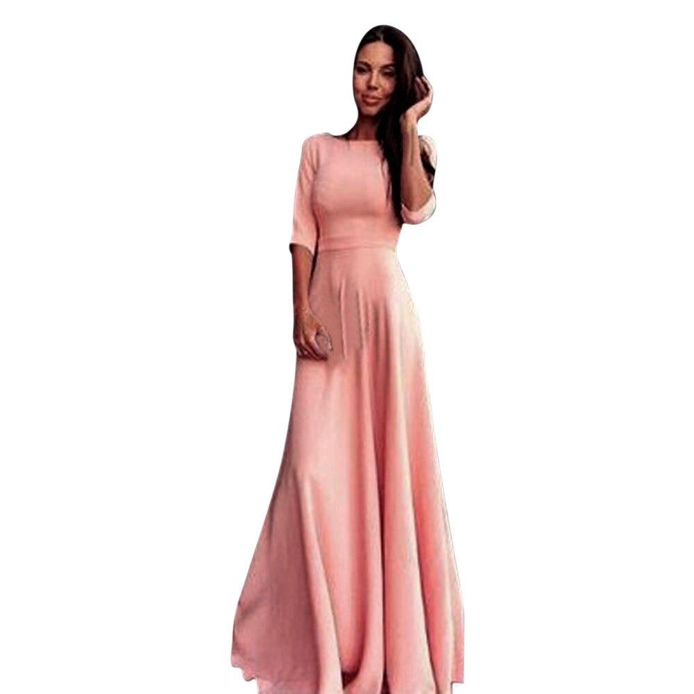 2018 mujeres vendaje vestidos de alta cintura vestido elegante ...