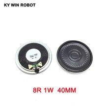 5pcs/lot New Ultra-thin Mini speaker 8 ohms 1 watt 1W 8R Diameter 40MM 4CM thickness 5MM