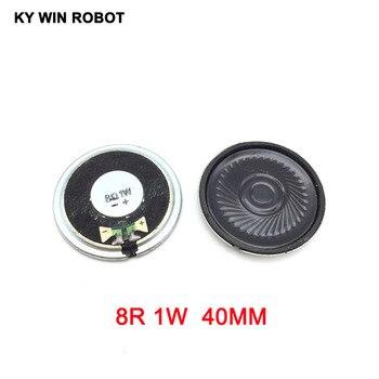 5pcs/lot New Ultra-thin Mini speaker 8 ohms 1 watt 1W 8R speaker Diameter 40MM 4CM thickness 5MM 5pcs lot new ultra thin speaker 8 ohms 0 5 watt 0 5w 8r speaker diameter 40mm 4cm thickness 5mm