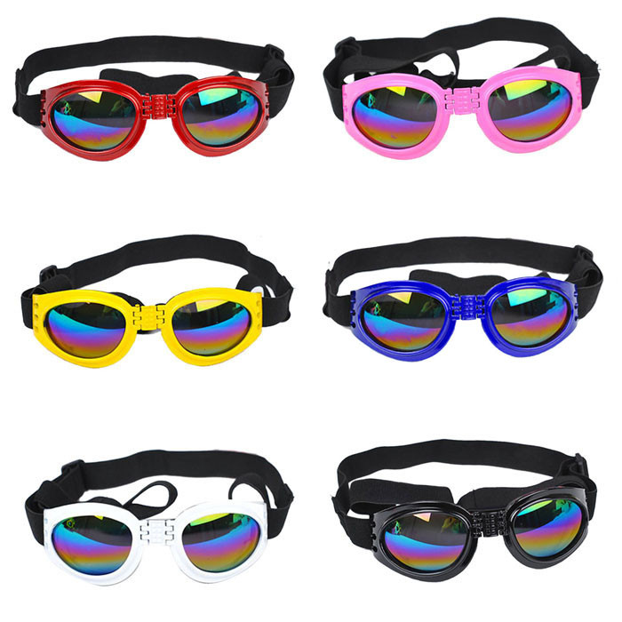 Dog Protection Goggles UV FoldableDog Cat Eye-wear Sunglasses Multicolor For Dog Pet Products Accessories Dog Protection Goggles