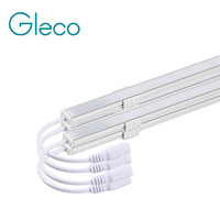 4PCS X 50CM Touch LED Bar Light Dimming Hard LED Strip Bar Light With Aluminium Shell