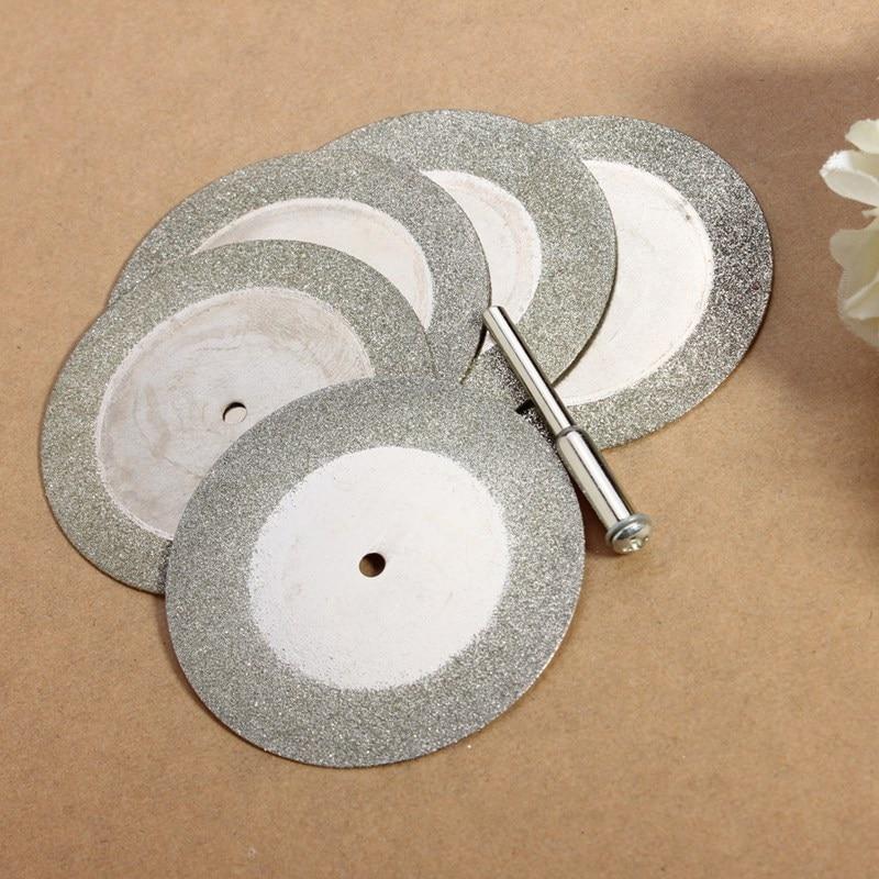 Prix de gros 5pcs 50mm disques de coupe de diamant et foret - Outils abrasifs - Photo 2