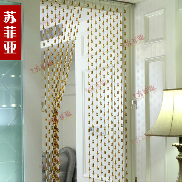 Home Decor Curtains home dcor blackout curtains 2015 Hot Sale Wholesale Passing Door Curtains Crystal Bead Curtains For Hotel Office Or Home Decor