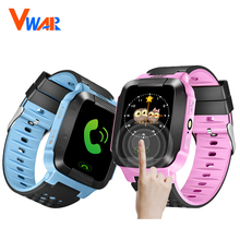 "Vwar Vm75 1.44 ""de Pantalla Táctil Inteligente GPS Rastreador LBS Ubicación SOS Llamada con Iluminación de la Cámara Monitor de Rastreador Niños Niño Inteligente reloj"
