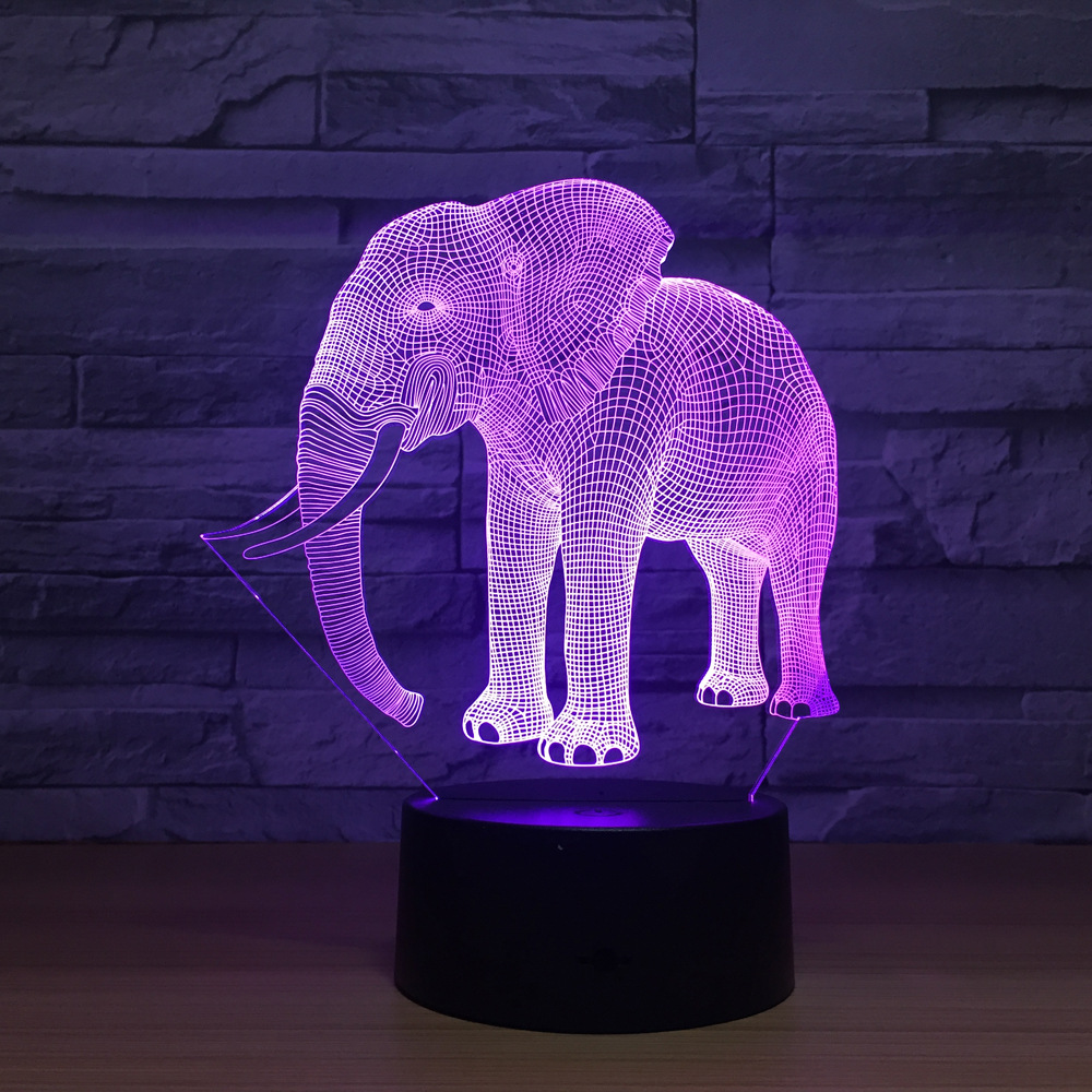 Lights & Lighting Intelligent 3d Desk Lamp Remote Control Creative Usb Plug In 3d Led Colorful Night Light Acrylique Usb Table Lamps For Living Room Led Lamps