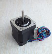 5pcs 4-lead Nema17 Stepper Motor 42 motor Nema 17 motor 42BYGH 1.7A (17HS4401) 3D printer motor and CNC XYZ