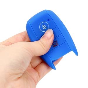 Image 3 - YOSOLO Replacement Silicone Key Bag Cover Protector Car Key Case Shell For kia rio sportage 2014 ceed sorento cerato K2 K3 K4 K5