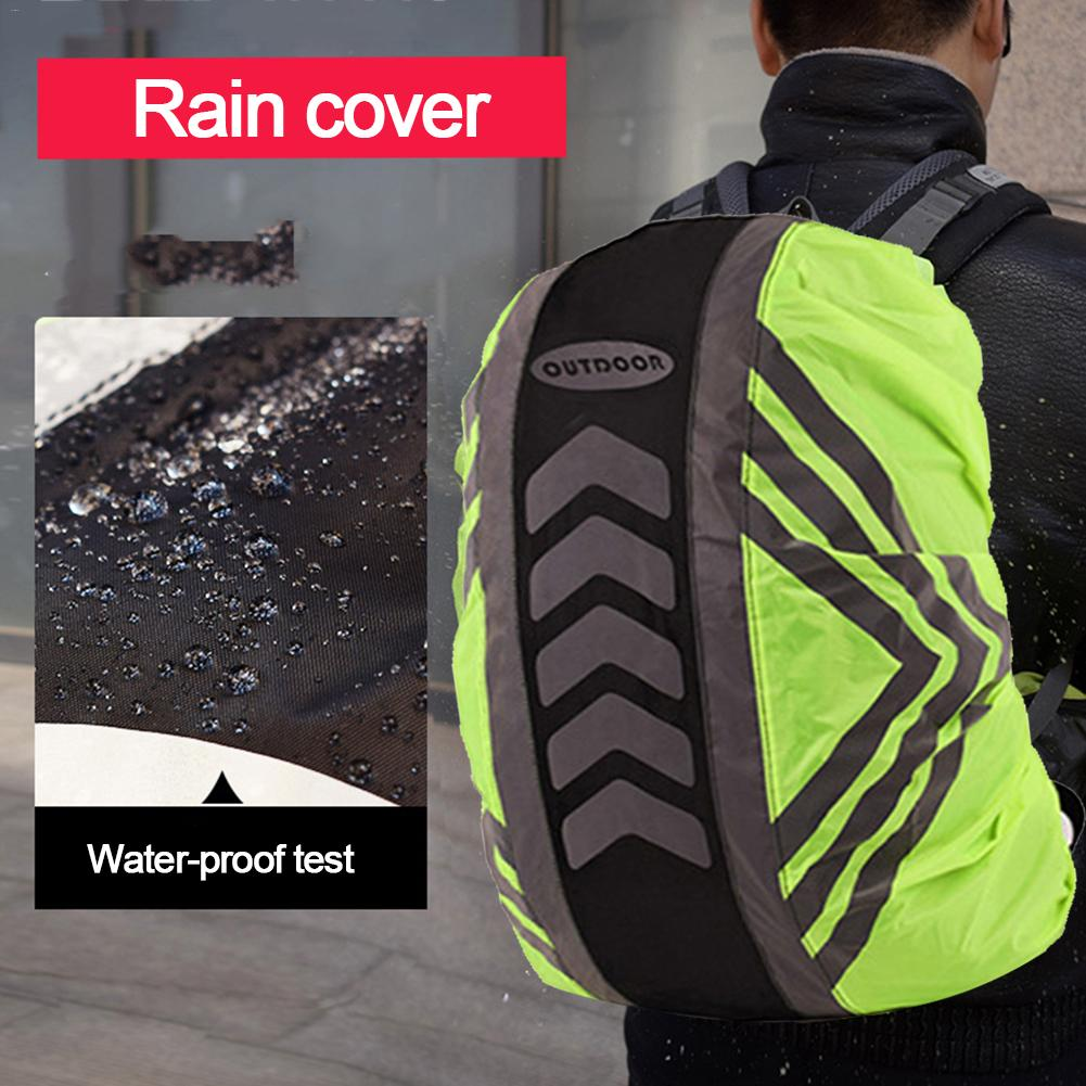 Outdoor Reflective Backpack Cover Waterproof, Rainproof Protective Cover For Cycling Running