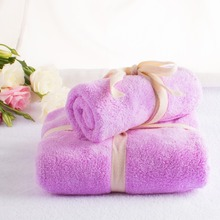 2pc/set Microfibre Towel Super Absorbent Travel Plush Cheap Bath Towel Quick-Dry Beach Towels swimming Spa Towel For Adult kids