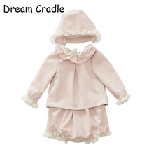 Dream Cradle /  Baby Spanish Outfit Lace Toddler Vintage Clothes Set