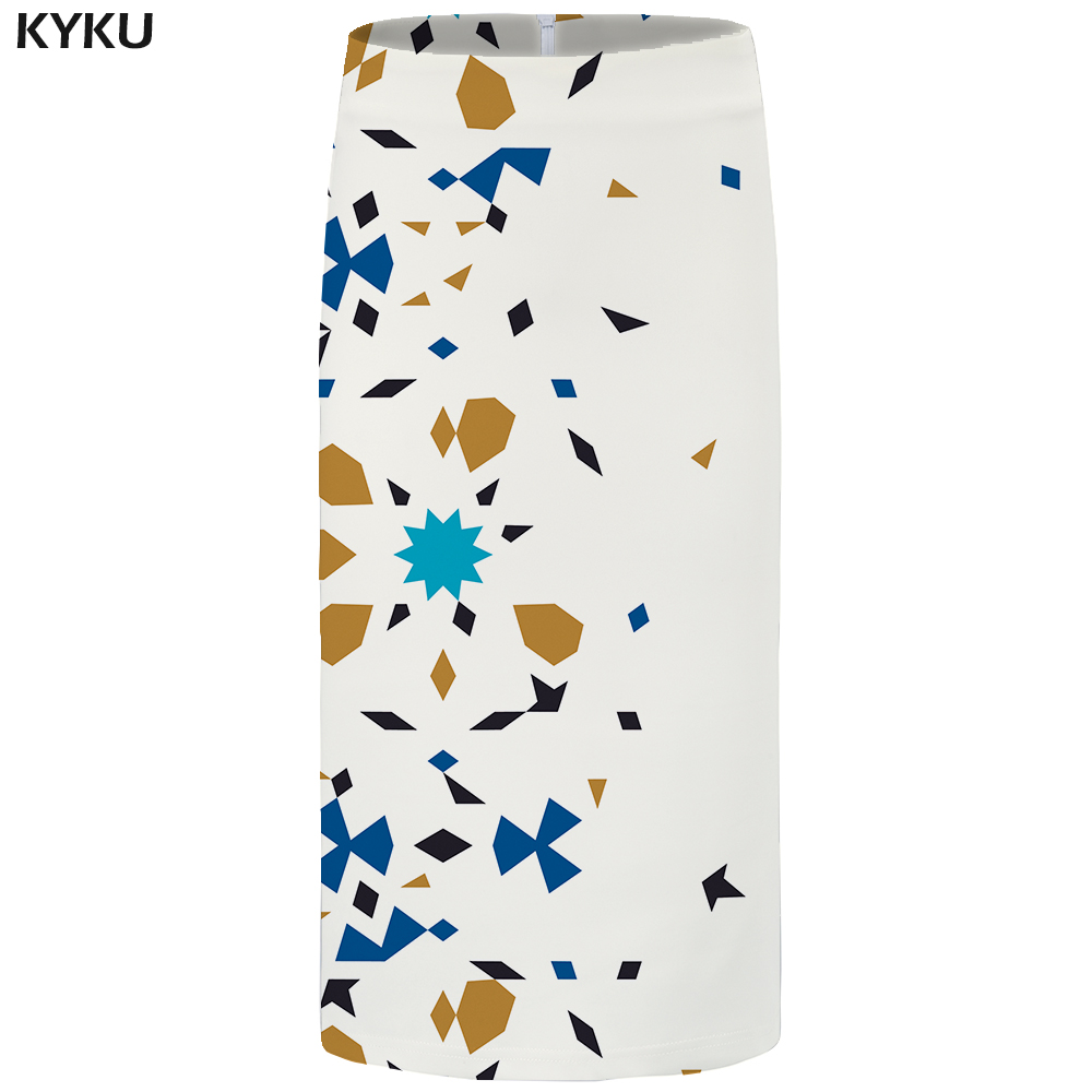 KYKU Brand Leopard Print Skirts Women Yellow Ink Office Skirts Gothic Funny 3d Print Skirt Casual Sexy Ladies Skirts Womens New in Skirts from Women 39 s Clothing