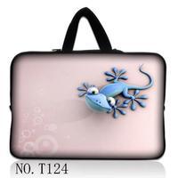 Розовый Ящерица Ноутбука Laptop sleeve сумка Сумочка Для ipad tablet ПК 7 10 11 12 13 14 15 17 дюймов Настраиваемый ЛОГОТИП