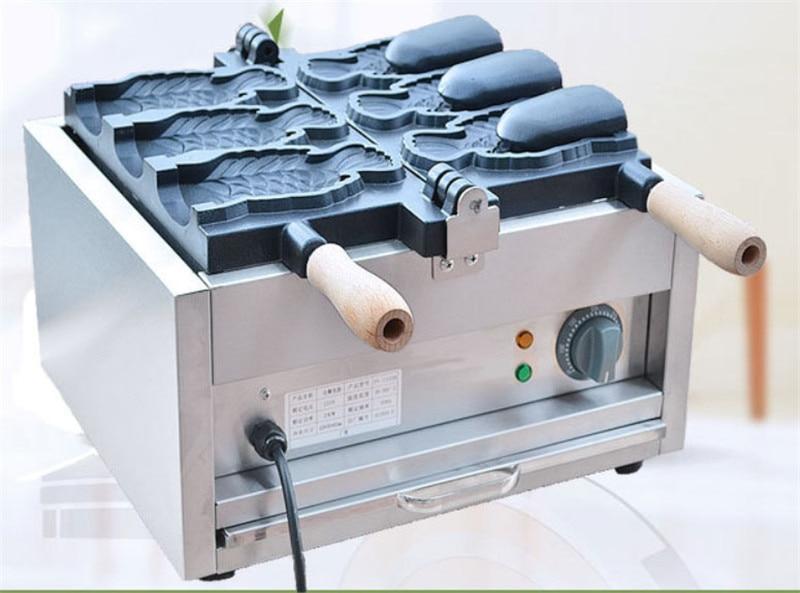 Commercial Nonstick Electric Ice Cream Taiyaki Maker Iron Baker Machine w// Tool