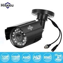 Hiseeu 720 P 960 P AHD Камера металлический корпус Открытый Водонепроницаемый Пуля CCTV Камера Камеры Скрытого видеонаблюдения для видеонаблюдения DVR системы безопасности