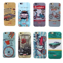 Case with Retro Cars for iPhone 6, 6S, 6 Plus