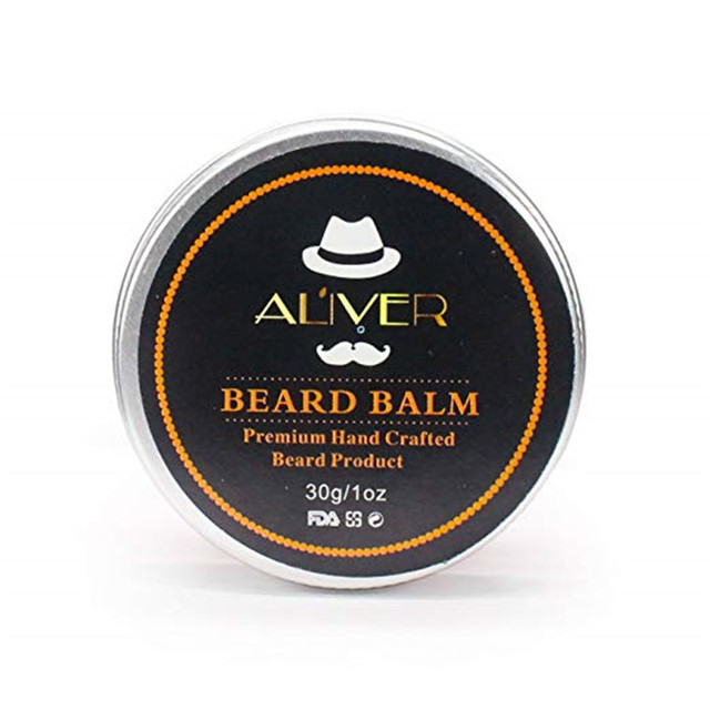 30G Gift Natural Beard Oil Conditioner Beard Balm for Beard Growth and Organic Moustache Wax for Beard Styling 5