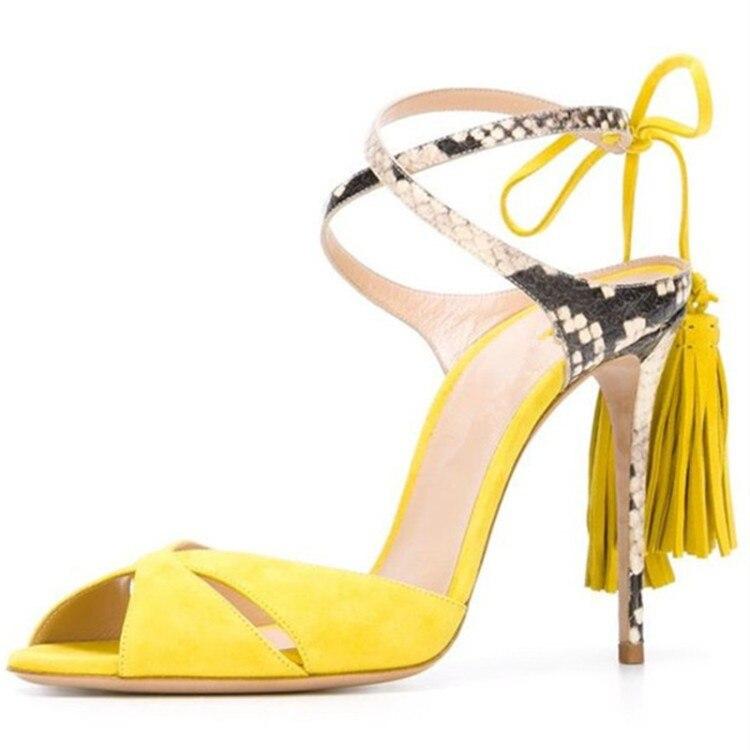 ФОТО Fashion Fashion hot sale woman sandal sexy open toe lace-up gladiator fringe thin heels sandal shoes woman free shipping