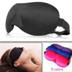 1 Stücke 3D Schlafmaske Natürliche Schlafaugenmaske Augenschirm Abdeckung Schatten Augenklappe Frauen Männer Weiche Portable Augenbinde Reise augenklappe