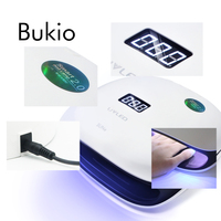 Bukio 48W SUN4 Professional LED UV Nail Lamp Manicure Material Gel Varnish for A Lamp 36pcs Uv Light Nail Dryer Primer for Nails