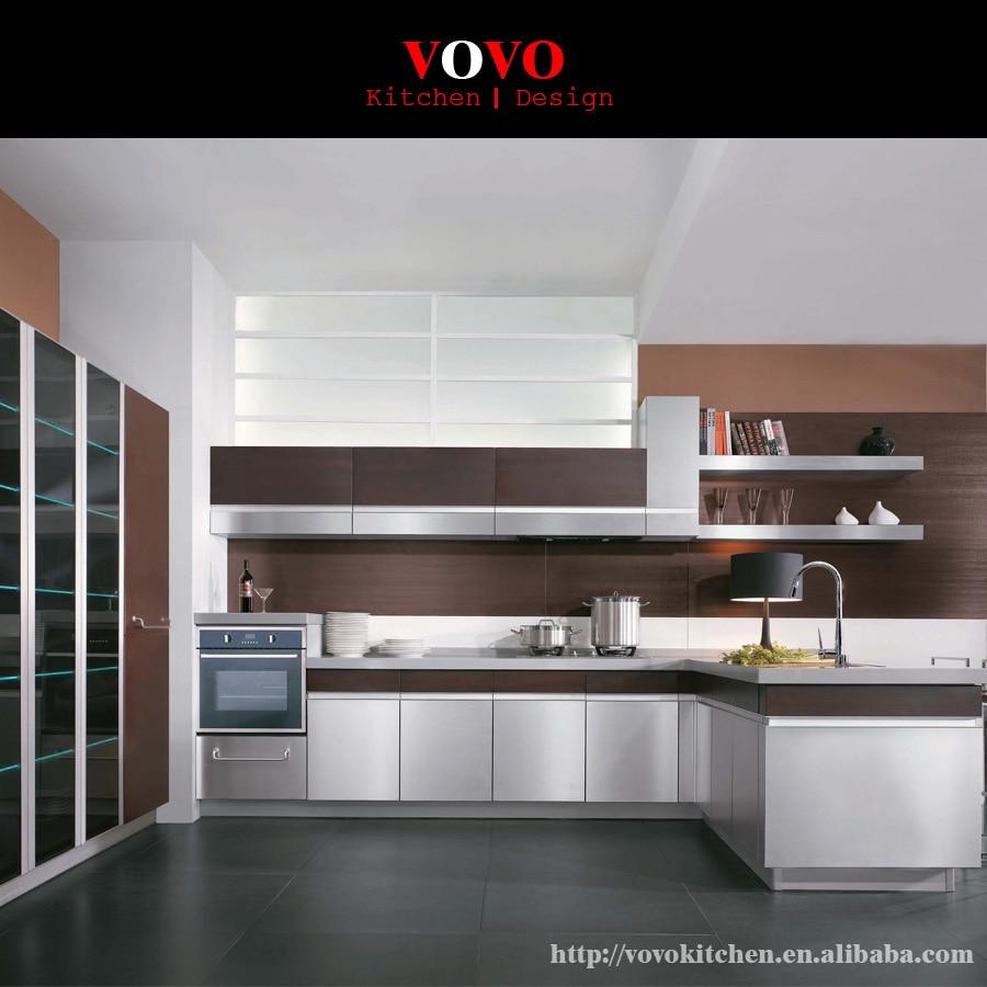 US $2450.0 |Isola armadio da cucina di design con combinazione di colori-in  Mobili da cucina da Miglioramento della casa su AliExpress