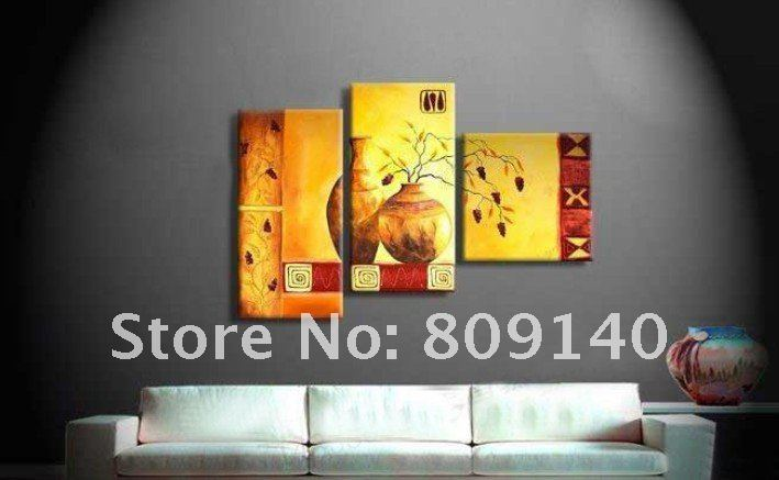 Modern Kitchen Paintings kitchen dining room still life oil painting on canvas yellow