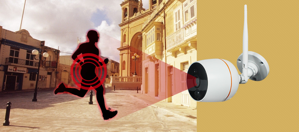 wifi camera with PIR detect