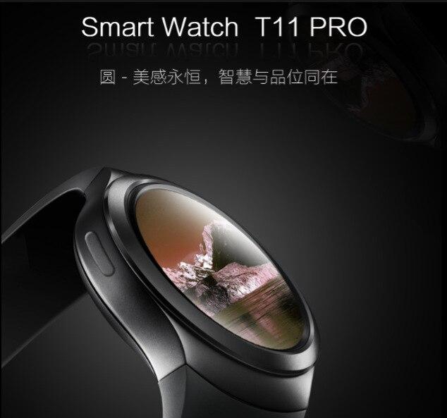 T11 Nano SIM Card & Bluetooth Smart Watch IPS Display  Monitor Sleep Tracker Ped