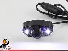 БОКОВЫЕ Задние ВИД Ночного Видения 2 LED Камера Заднего Вида для Автомобилей Даш Монитор