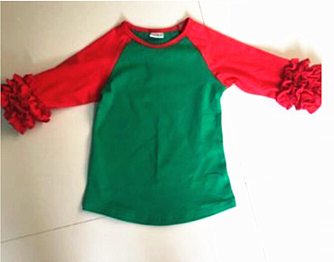 christmas fall font b winter b font tops baby girls cotton outfits ruffle t shirts reindeer