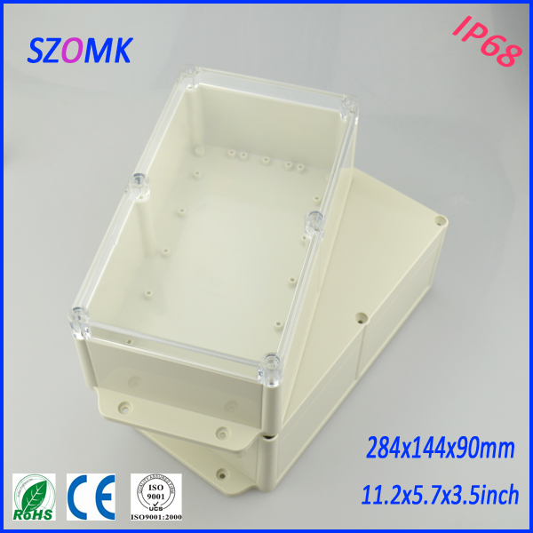 4 pieces a lot waterproof electrical boxes 284*144*90 mm 11.2*5.7*3.5 inch