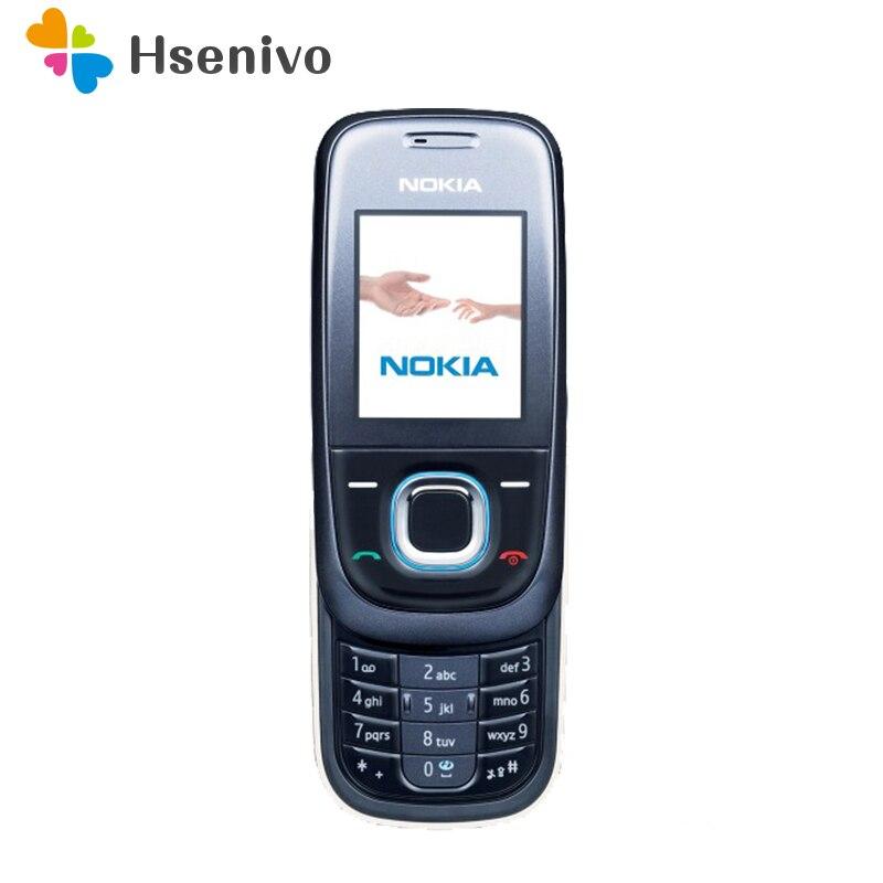 2680s Refurbished Original 2680 Unlocked Nokia 2680 2680s slide mobile one year warranty free shipping