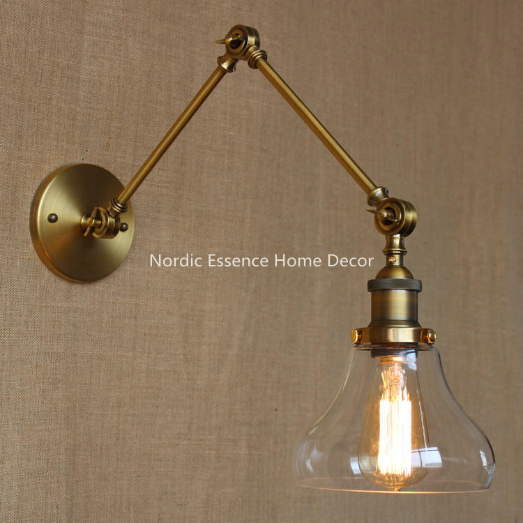 Nordic Designers American LOFT country rural retro style garden living room restaurant bar industry dock decorative wall sconce