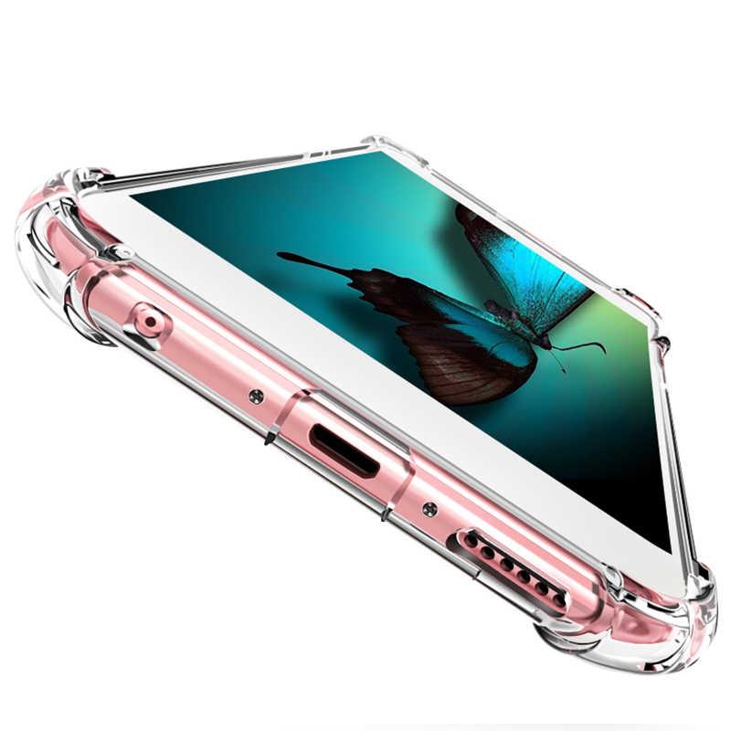 Limpar Silicone Suave Caso Armadura à prova de choque Para Huawei P30 P20 Pro P8 P9 20 P10 Plus P inteligente 2019 Companheiro 10 9 Lite Nova 3i 4 Caso