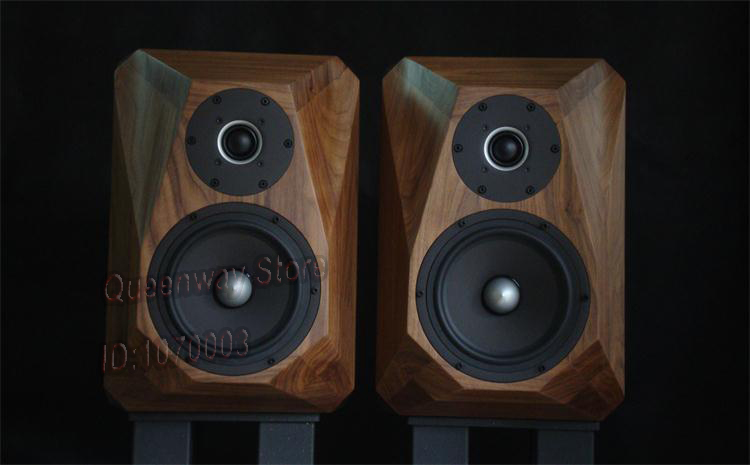 US $3020 0 |SEAS HIFI speaker tweeter E0040+midrange bass 0042 real classic  speaker Black walnut wood speaker DIY-in Bookshelf Speakers from Consumer
