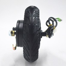 8inch 24V 36V 48V 350W electric scooter wheel E-scooter conversion kit Wheel Brushless Toothless E bike Wheel Motor Scooter Kit цена в Москве и Питере