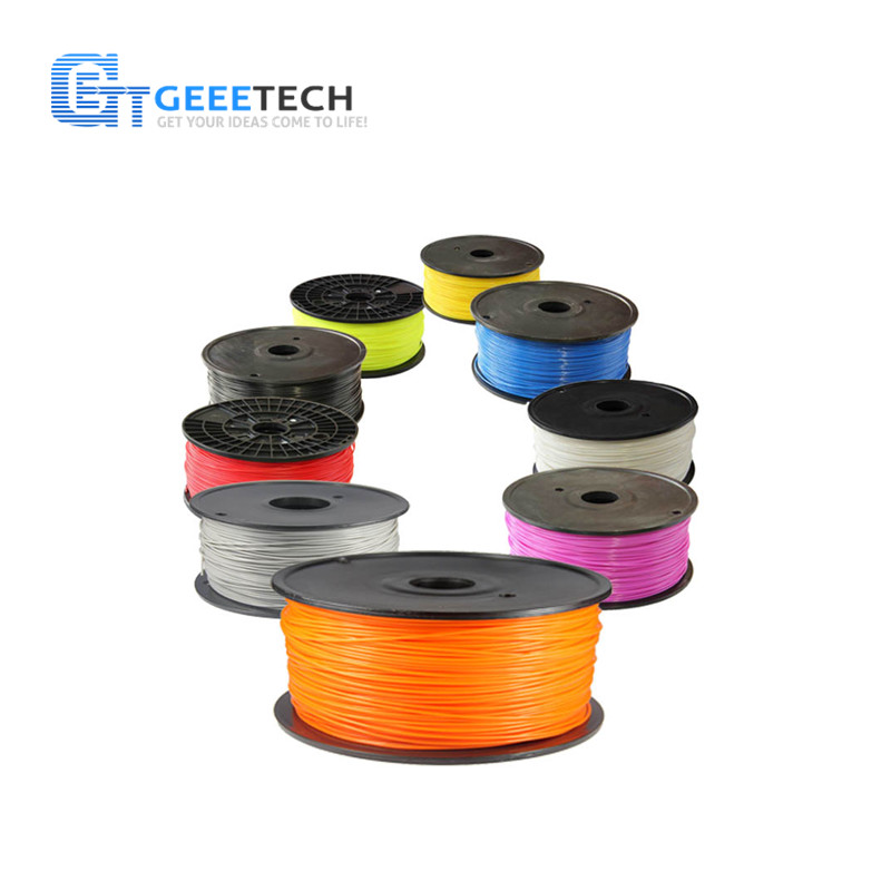 Geeetech PLA Filament 1.75mm Plastic 3D Printer 1kg/Roll for MakerBot/RepRap/UP/Mendel 3d printer filament 1kg 2 2lb 3mm pla plastic for mendel white