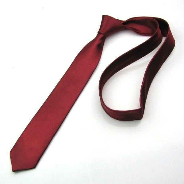 Cravate rouge Slim noir pour hommes | Décontracté flèche, accessoires pour hommes, simplicité pour fête cravate formelle mode 5cm
