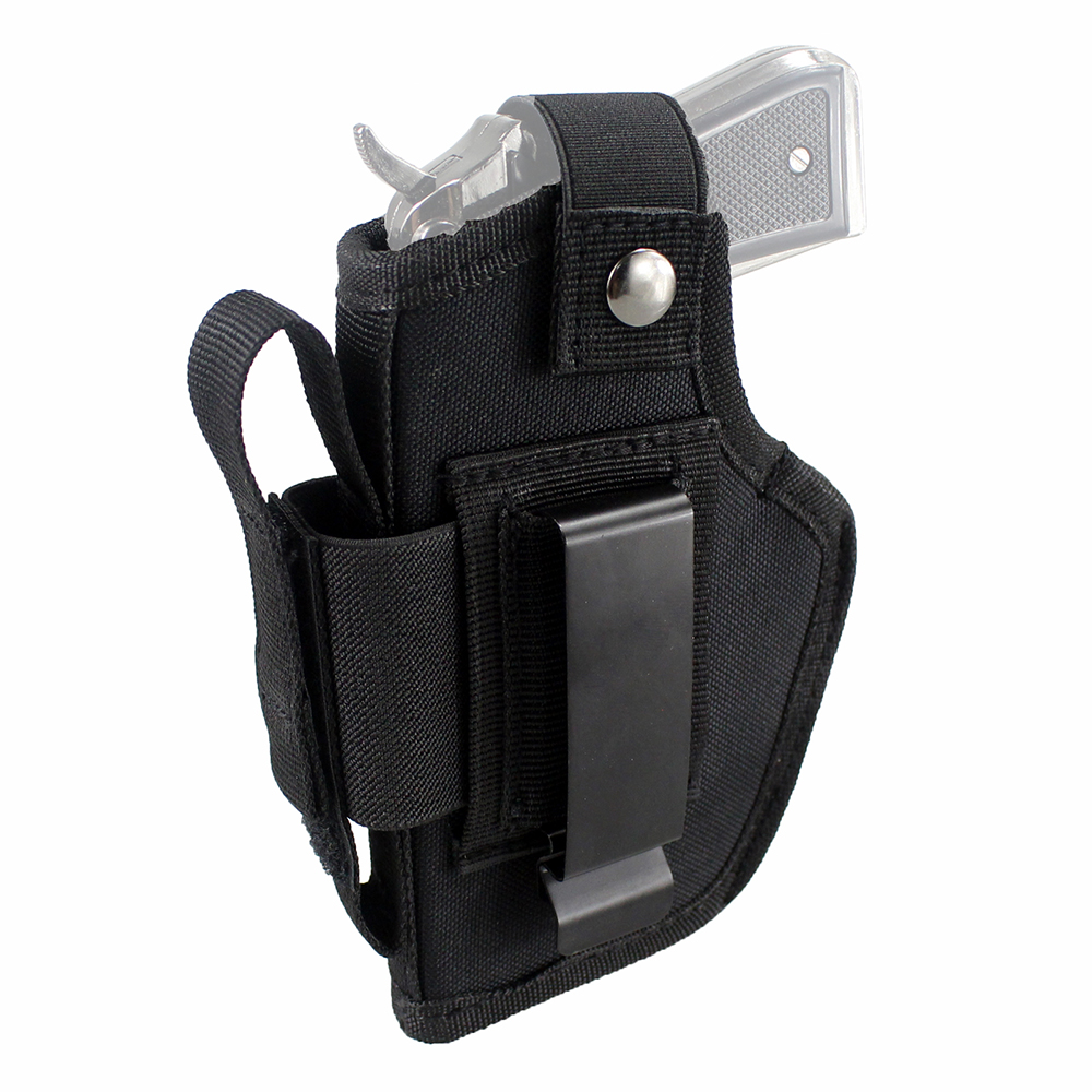 iwb owb coldre com compartimento e clipe metal intercambiável