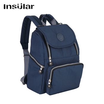 Insular Brand baby diaper backpack mummy nappy bag waterproof infant stroller bags baby care maternity nursing bag Nappy Changing