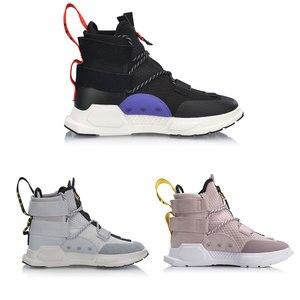 Image 3 - Li ning Zapatillas deportivas de baloncesto para hombre y mujer, zapatos deportivos de estilo informal, con forro de corte alto, para Fitness, Unisex, NYFW REBURN, AGBP038 XYL232