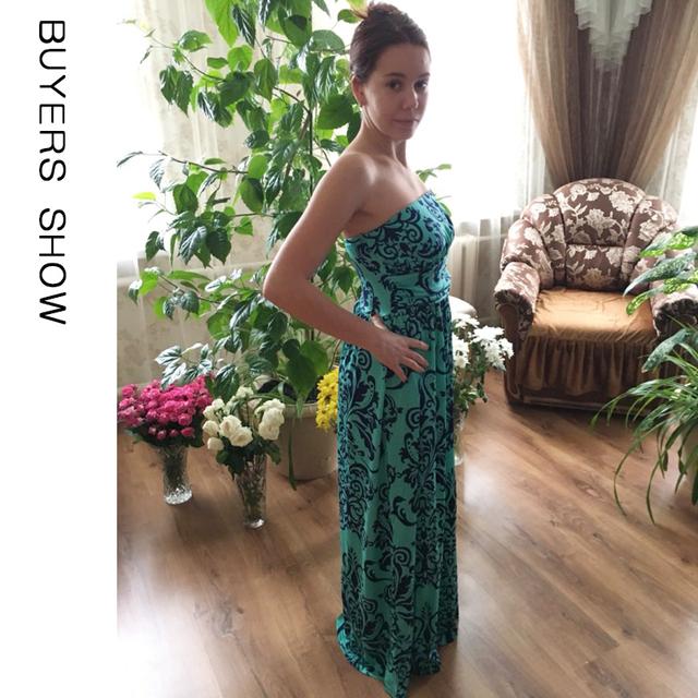 Off Shoulder Long Maxi Beach Dresses