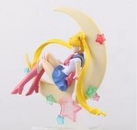 Japonia anime sailor moon rysunek tsukino usagi pcv figurka kolekcjonerska model doll 15 cm postać anime brinquedos darmowa wysyłka