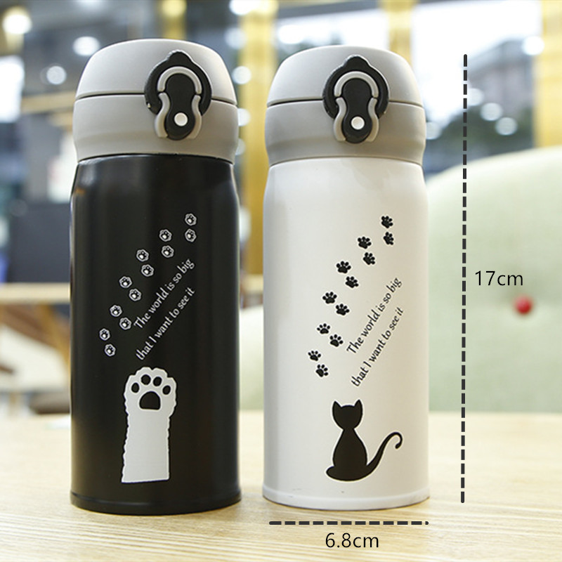 Cat Stainless Steel Thermos