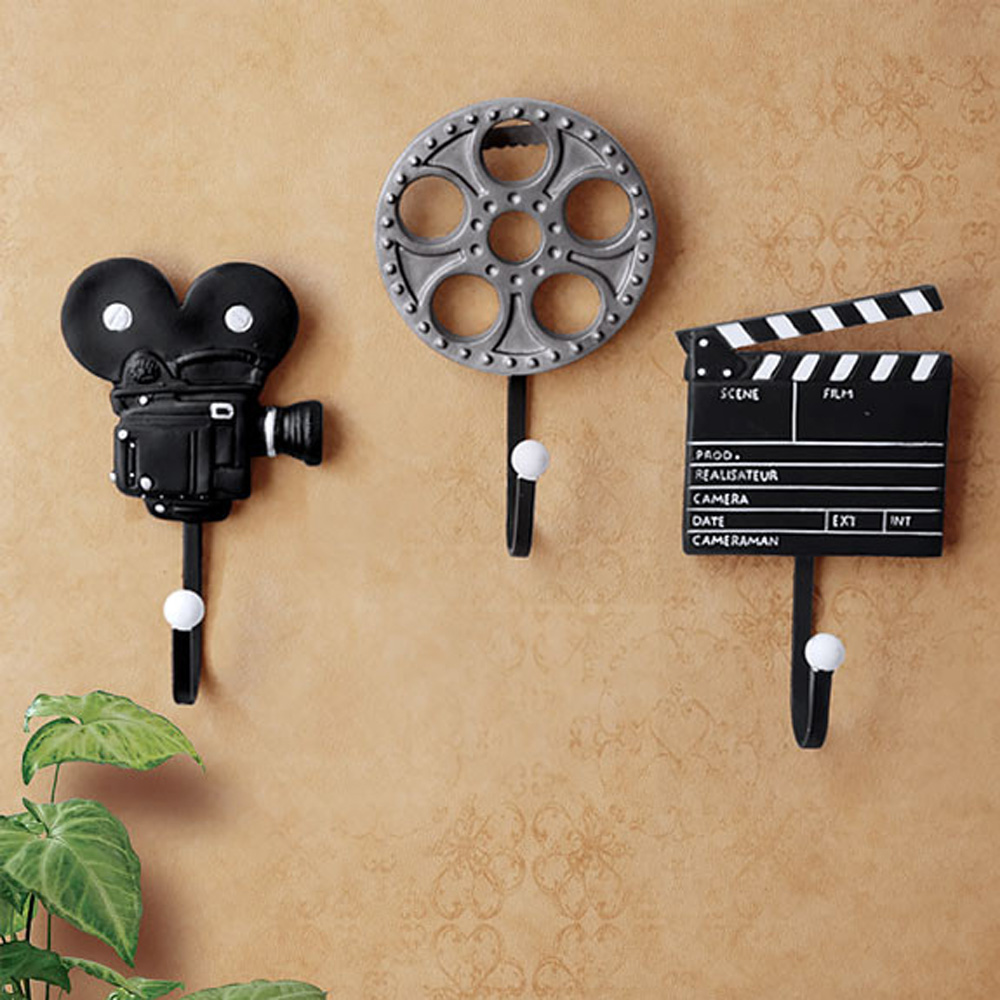 3pieces/Set Antique Special Music Wall Mounted Hook Kitchen Hanger ...