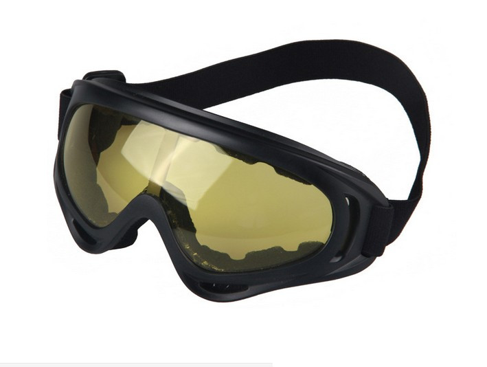 New UV400 Lens Outdoor Cycling Sport Motorcycle Sediment Control Safety ski Goggles Glasses