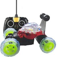 High Quality 360 Spin Fashion Stunt Car Music Remote Control LED Lights Rechargeable Super Wheel RC